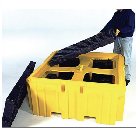 Sellars IBC Spill Pallet Includes Drain