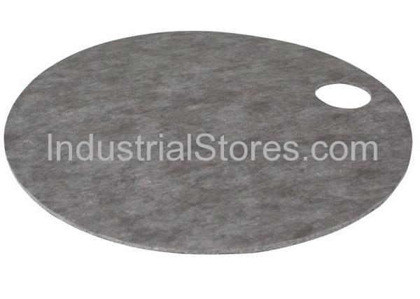 Sellars 22866 HeavyDuty Gray Sorbent Barrel Top Pad (10/Case)