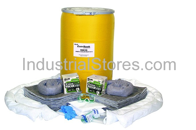 Sellars 99030 55Gallon Drum General Purpose Spill Kit