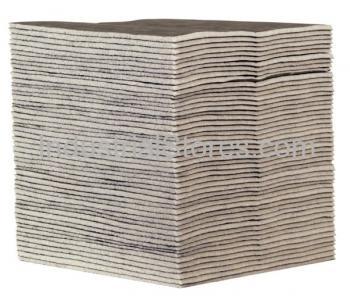 Sellars 22851 HeavyDuty Gray Sorbent General Purpose Pad (50/Case)