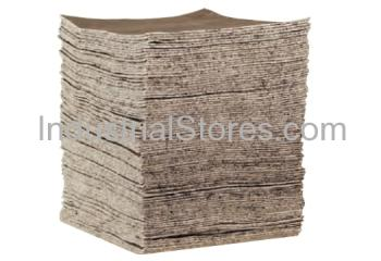 Sellars 22883 LightDuty Gray Sorbent General Purpose Pad (100/Case)