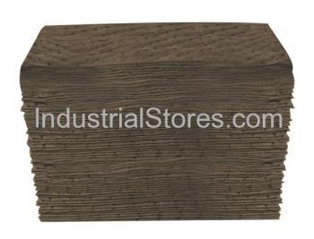 Sellars 25000 Gray Sorbent Universal Heavyweight Poly Pad [15 X18] (100/Bag)