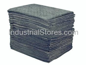 Sellars 25200 Gray Sorbent Universal Lightweight Poly Pad [15 X18] (200/Bag)