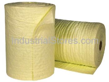Sellars 53151 Yellow Sorbent Universal Poly Split Roll [19 X144 ] (2/Bag)