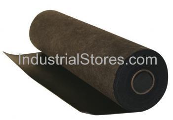 Sellars 91050 Black Sorbent Poly Back Industrial Rug [36 x50]