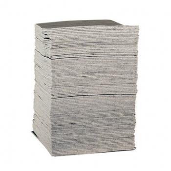 Sellars 22867 MediumDuty Gray Sorbent General Purpose Pad (100/Case)